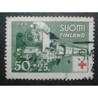 Финляндия 1944 поезд, Кр. крест