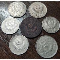 Неплохой набор дореформенных монет