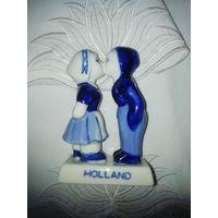 Статуэтка Дети, Delft, Голландия.