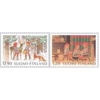 Финляндия 1982 Олень | Птицы | Рождество **
