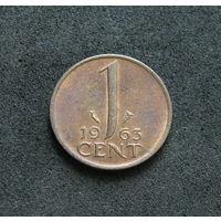 Нидерланды 1 цент 1963