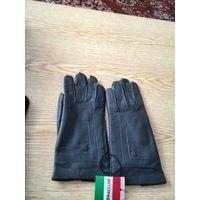 Женские перчатки из натуральной кожи времен СССР,верхсшит вручную