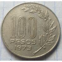 Уругвай 100 песо, 1973         ( 4-4-2 )