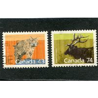 Канада. Охраняемая фауна, вып.1988 года