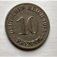 Германия 10 пфеннигов, 1915 A - Берлин 2-1-42