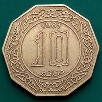 10 динаров 1981 АЛЖИР