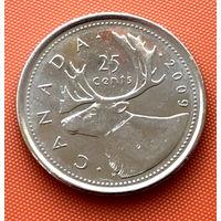 112-06 Канада, 25 центов 2009 г.