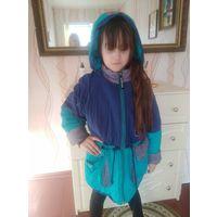 Куртка парка на девочку 8-10 лет