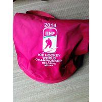 Рюкзак с эмблемой ЧМ-2014 года в Минске.