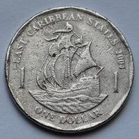 Восточные Карибы, 1 доллар 2004 г