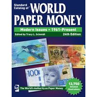 Каталог банкнот 2018 КРАУЗЕ KRAUSE Paper Money 1961-Present (24-е издание)