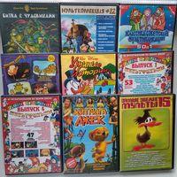 DVD диски с мультфильмами, цена за лот (лот 6)