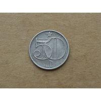 Чехословакия, 50 геллеров 1984 г.