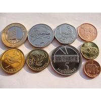 Мозамбик. набор 9 монет 1 сентаво - 10 метикал  2006 год UNC