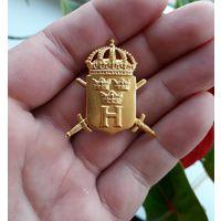 Знак значек Stockholm военно спортивный