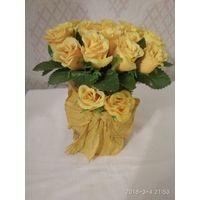 Сувенир.Желтые розы.