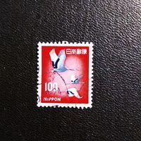 Марка Япония 1961 год Птицы
