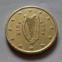 50 евроцентов, Ирландия 2004 г.