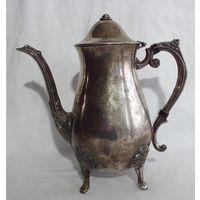 Кофейник Чайник Англия Серебрение 1,2 л LEONARD SILVERPLATE