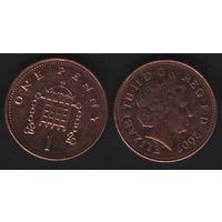 Великобритания _km986 1 пенни 2007 год (обращ) (h01)
