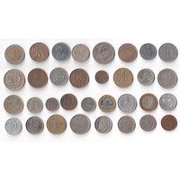 100 разных монет мира (без СССР, России)