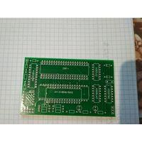 Платка-переходник (чистая, для самостоятельной сборки) для установки звукового сопроцесора AY-3-8910(AY-3-8912)или YM2149 в ретро-компьютеры на процессоре Z80: Ленинград, Балтик,ZX-48K, Пентагон и др.
