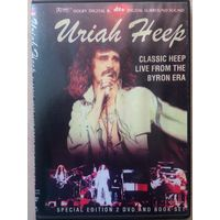 DVD URIAH HEEP classic heep live from the byron era
