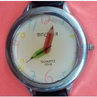 Часы кварцевые -BOLEDA . С ремешком. Очень красивые.