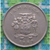 Ямайка 10 центов 1969 года. Подписывайтесь! Много новых лотов в продаже!!!