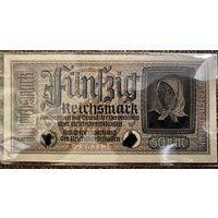 Германия, 50 марок, 1939-44 г., серия A, aUNC