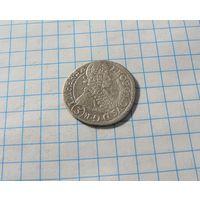 3 крейцера 1696 Богемия. Пражский монетный двор