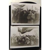 """Фото """"Демонстрация 7 ноября"""", Минск, 1953 г."""