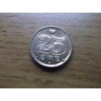 Дания 25 эре 2002