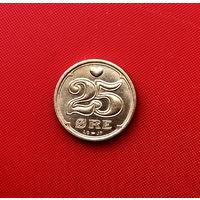 55-24 Дания, 25 эре 1996 г.