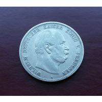 Германия (империя) - Пруссия, 5 марок 1876 г., серебро, Вильгельм I (1861-1888)