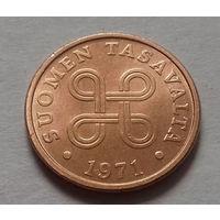 5 пенни, Финляндия 1971 г.