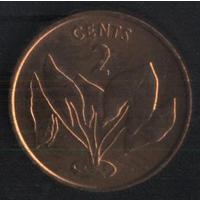 Кирибати 2 цента 1979 г. Состояние новое!!!