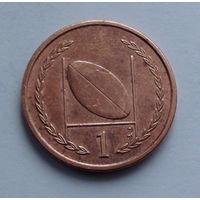 Остров Мэн 1 пенни. 1997