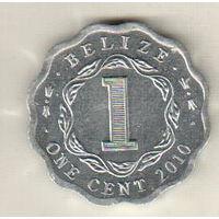 Белиз 1 цент 2010
