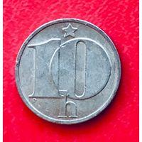 10-19 Чехословакия, 10 геллеров 1987 г.
