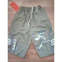 Новые шорты капри для мальчика на рост 128-134-140