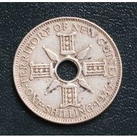 Британская Новая Гвинея. Шиллинг 1936 Георг V