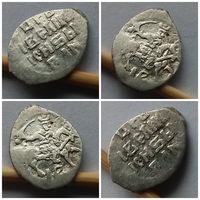 Очень редкая Тверская денга IВ, Иван Грозный (1533-1584)!!! Редчайшее состояние AU!!!