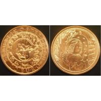 10 евро 2017 г Австрия Гавриил