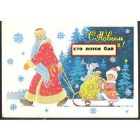 CCCР ДМПК Зарубин Новый год Дед Мороз зайка