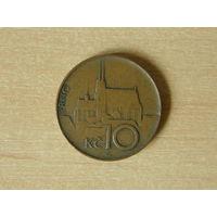 Чехия 10 крон 1996 г.
