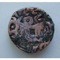 Северная Индия. Кабул-Шах Саманта Дева. 850-1250 гг. Джитал.