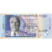 Маврикий, 50 рупий, 2001 г., XF