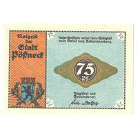 Германия Нотгельд 75 пфеннигов 1922 года. Состояние UNC!