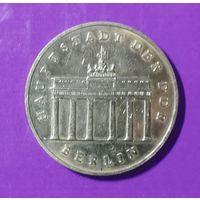 5 марок 1987 ГДР